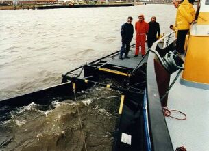 A vessel for oil spill recovery using the Suparator® principle.